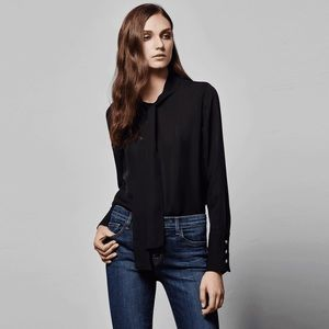 J Brand Delorna Top in Black size small
